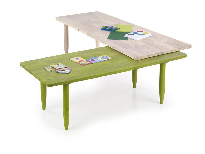Стол BORA-BORA (зеленый) (Halmar)