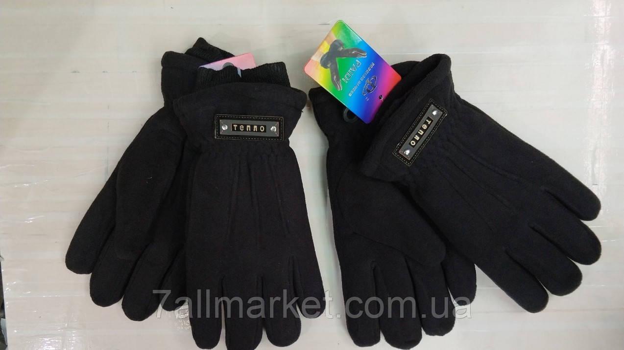 """Перчатки мужские флисовые на толстом меху  (6,5-8,5) """"PAIDI"""" купить недорого от прямого поставщика"""