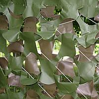 Сетка маскировочная Shade & Shelter серия Pro Double Sided 1.5*3 м зелено - коричневая
