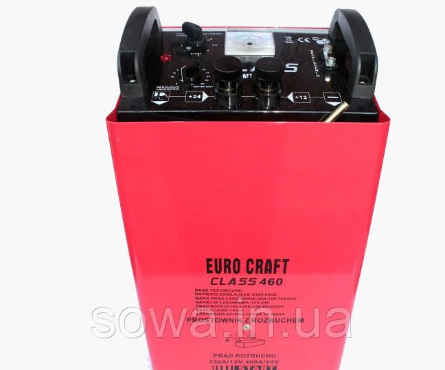 ✔️ Пуско зарядное устройство Euro Craft CLASS460 с автоматической зарядкой