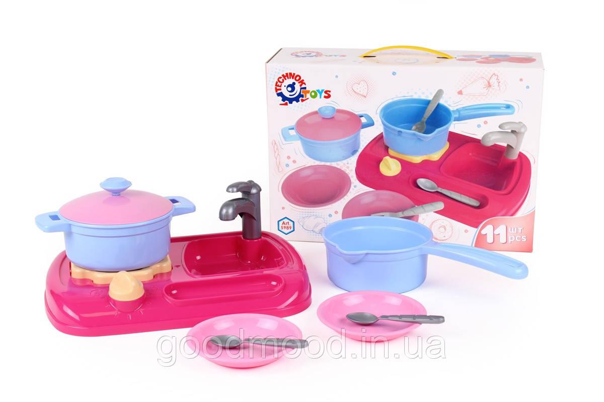 """Іграшка """"Кухня з набором посуду ТехноК"""", Арт. 5989"""