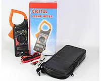 Мультиметр / тестер цифровой DT-266FT Токовые клещи AC