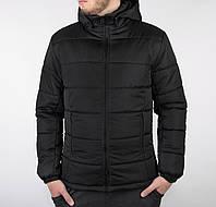 Куртка мужская зимняя повседневная / черная