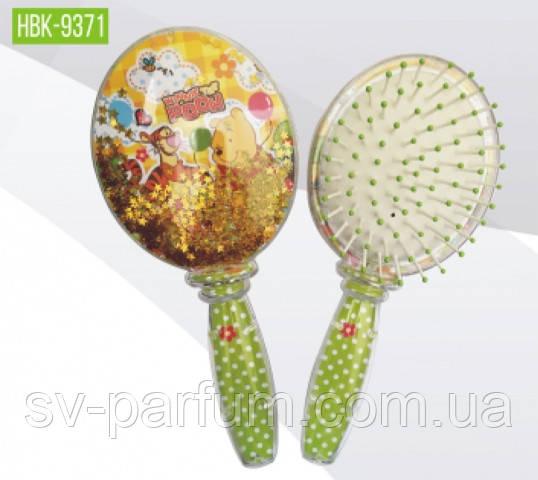 HBK-9371 Детская щетка для волос (блёстки) Beauty LUXURY