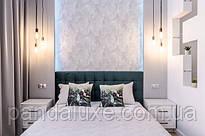 Подушка декоративна Кубики і Листя 45 х 45 см код 46350