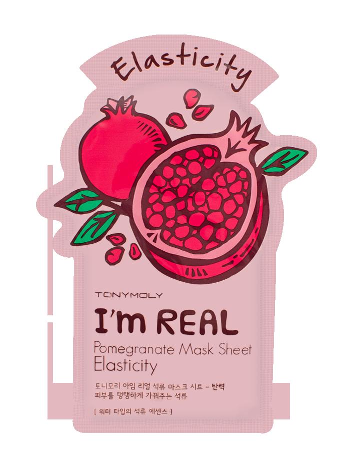 Корейская тканевая маска для лица Tony Moly 🌿 I'm  Pomegranate