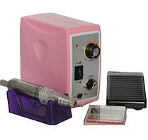Фрезер для маникюра и педикюра Nail Drill Set ZS-701 45 Вт, 45000 об/мин (розовый)