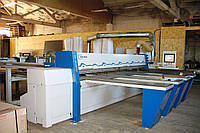 Пильный центр Holzma HPL11/43/22 бу для форматного раскроя ДСП, MDF, плит. Лифтовая загрузка