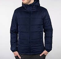 Куртка мужская зимняя повседневная / синяя, фото 1