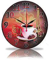 Настенные часы Декор Карпаты Чашка кофе (25-80)
