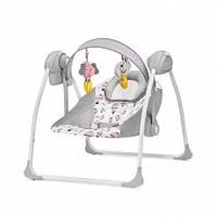 Кресло-качалка,шезлонг Kinderkraft Flo Pink цвет серый (9056)