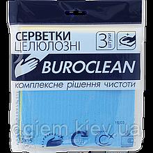 Губки-серветки Buroclean 15х15см 3шт