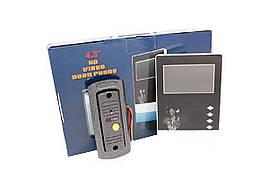 """Домофон Intercom V43D-M1 4,3"""" екран Відеодзвінок із камерою"""