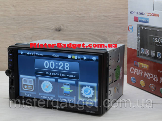 Купить автомагнитолу 2 Din Pioneer 7020 CRBG Навител