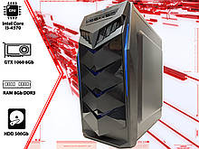 Игровой ПК Intel Core i5 4570, GTX 1060 3Gb, DDR3 8Gb, 500Gb