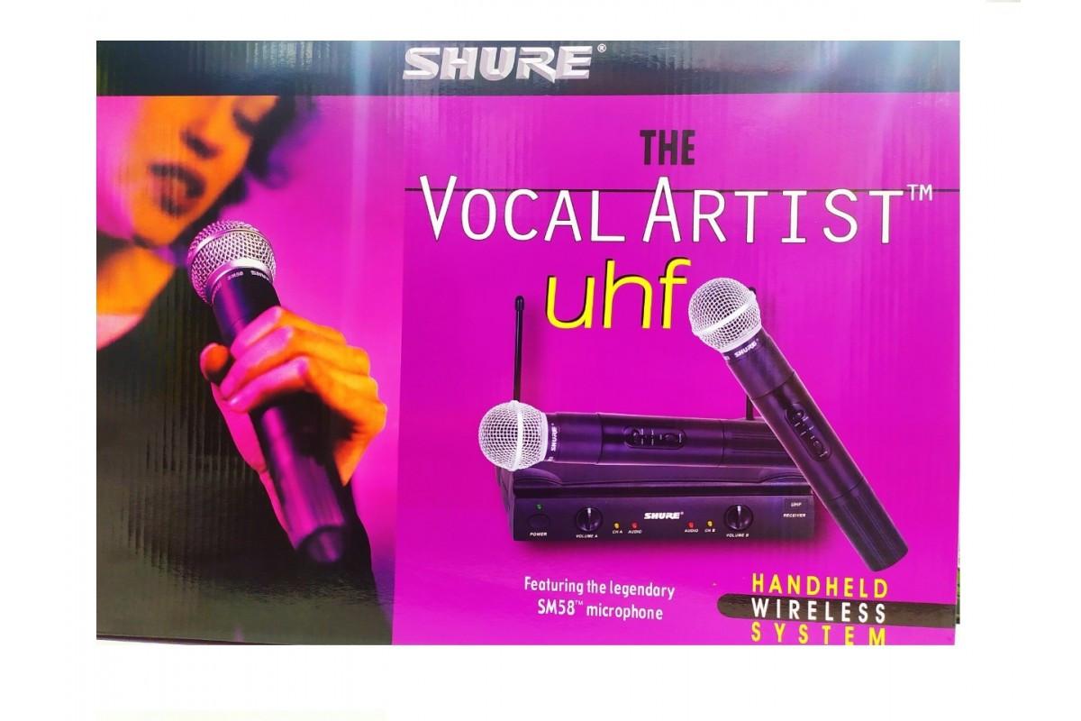 Радіосистема на 2 мікрофони Shure SM-58 i