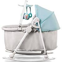Колыбель-шезлонг Kinderkraft Cradle Unimo 5 в 1 цвет голубой (8929)