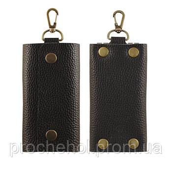 Кожаная ключница Stenk Keyholder Black
