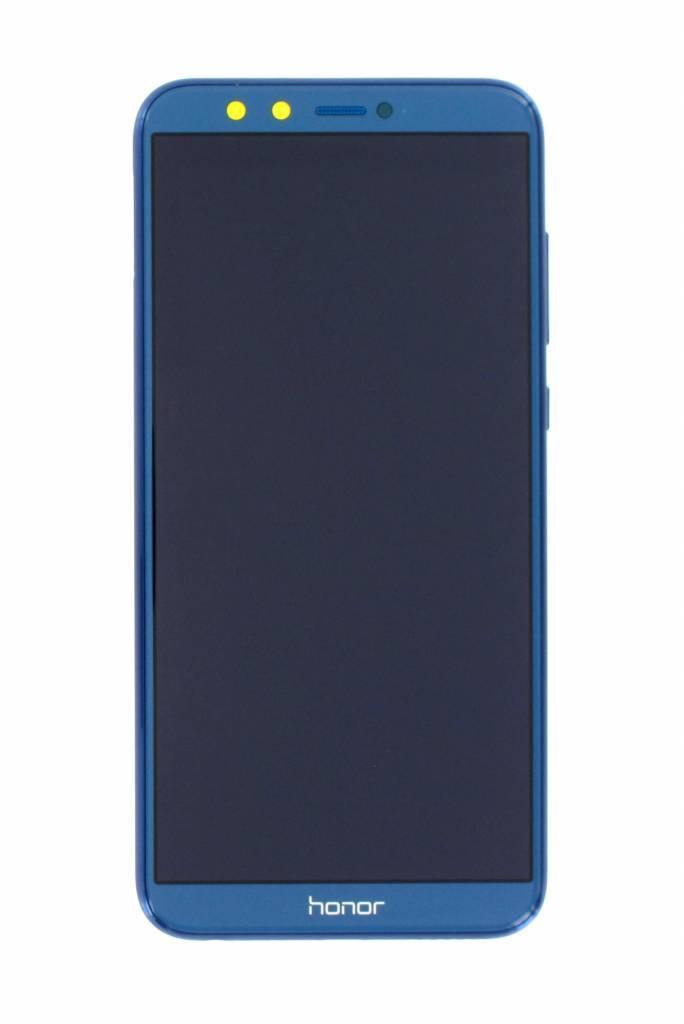 Дисплей Huawei Honor 9 Lite Dual Sim (LLD-L31) + сенсор синий + рамка