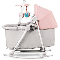 Колыбель-шезлонг Kinderkraft Cradle Unimo 5 в 1 цвет розовый (8936)