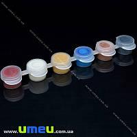 Набор акриловых металлизированных красок, 6 цветов по 2 мл, 1 набор (INS-034567)