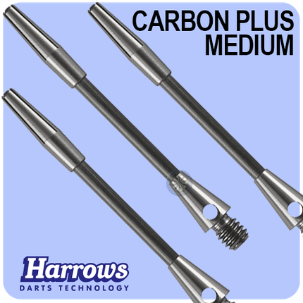 Хвостовики дартс Carbon plus Harrows Англия, фото 2