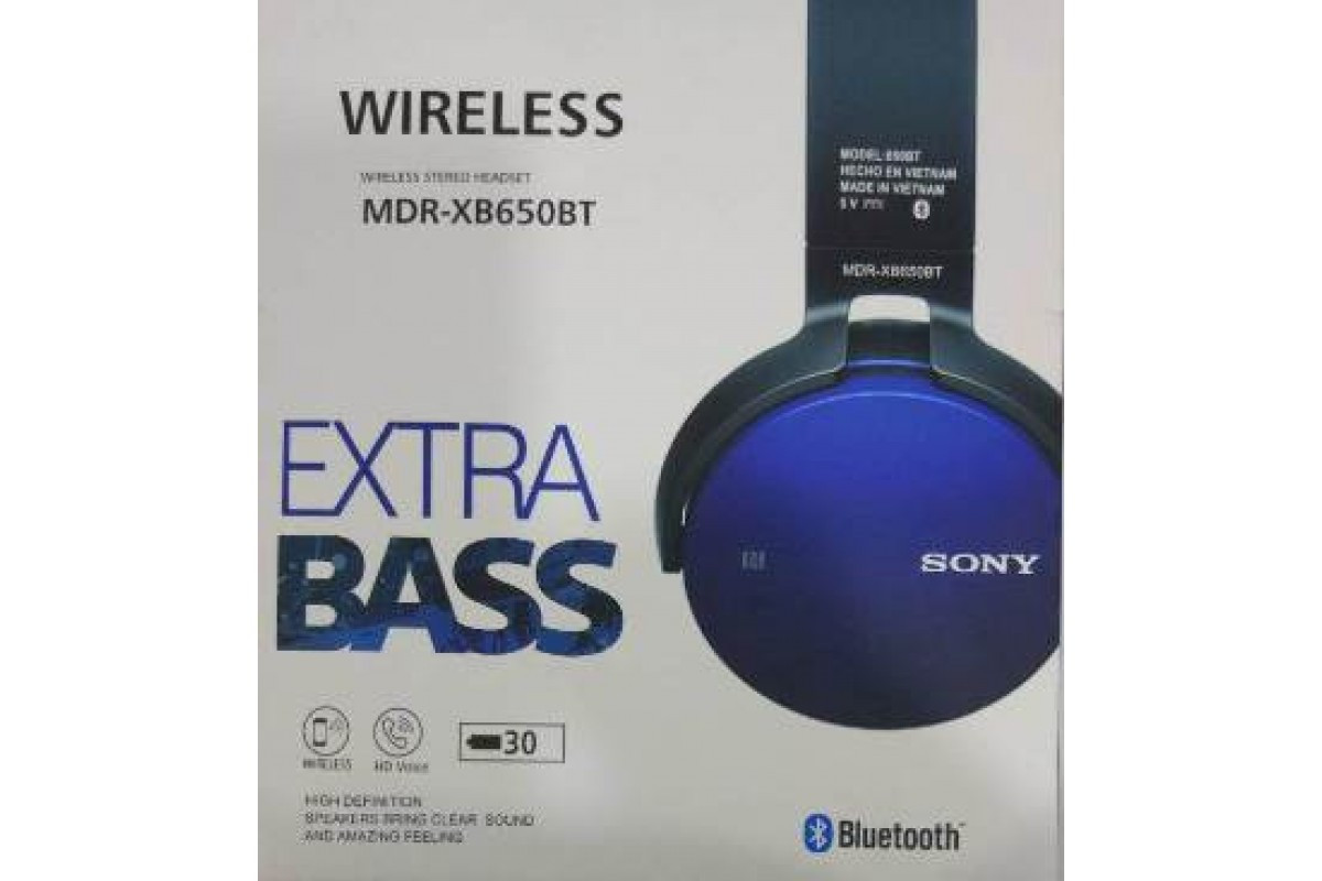 Наушники Sony MDR-XB650BT (50)