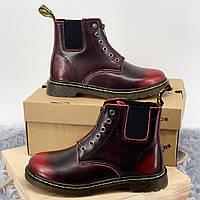 Ботинки, Gusset Black/Red БЕЗ меха