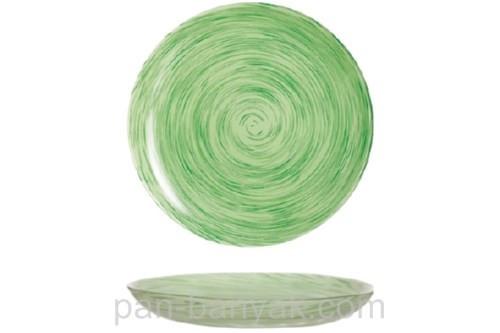 Тарелка глубокая Luminarc Stonemania Pistache круглая без борта d20 см ударопрочное стекло (J2127)