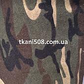 Ткань   Трехнитка (на флисе) КАМУФЛЯЖ