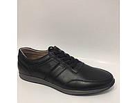 Кожаные спортивные мужские туфли, фото 1