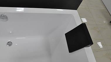 Підголовник для ванни BESCO MODERN чорний, фото 3