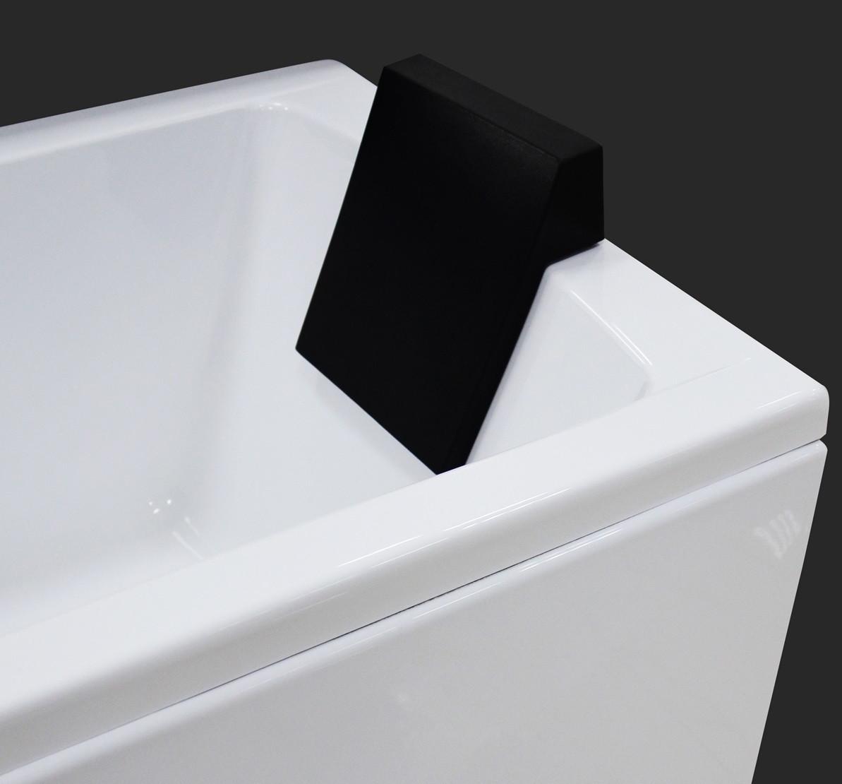 Підголовник для ванни X20-B чорний