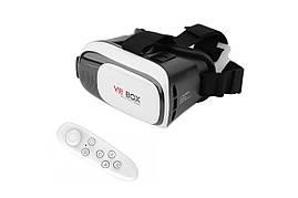 Очки виртуальной реальности VR BOX с пультом (white) (50)