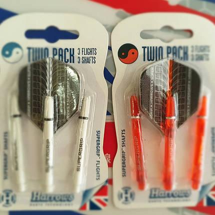 Хвостовики набор дартс Twin Pack Harrows Англия, фото 2