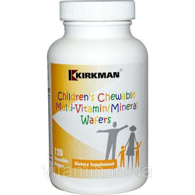 Поливитамины и минералы для детей, Kirkman, 120 жевательных таблеток
