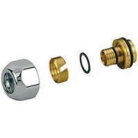 Соединитель для многослойных и полимерных труб, для клапанов 18-16х2