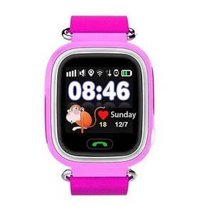 Детский смарт часы JETIX Q50 Pink с GPS трекером и телефону (12089) ХХХ