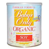 Nature's One, Органическая смесь для детей с соей и железом, 12,7 унций (360 г)