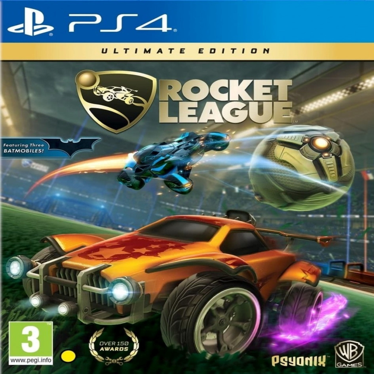 Rocket League Ultimate Edition RUS PS4 (NEW)