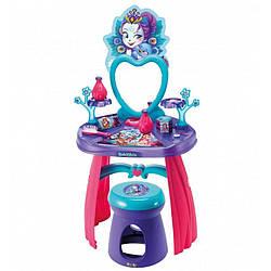 Туалетный столик с зеркалом и стульчиком Enchantimals (Энчантималс) Smoby 3+ (320229)