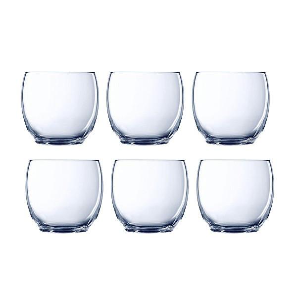 Набор стаканов низких Luminarc Versailles 6 штук 350мл стекло (1651G)