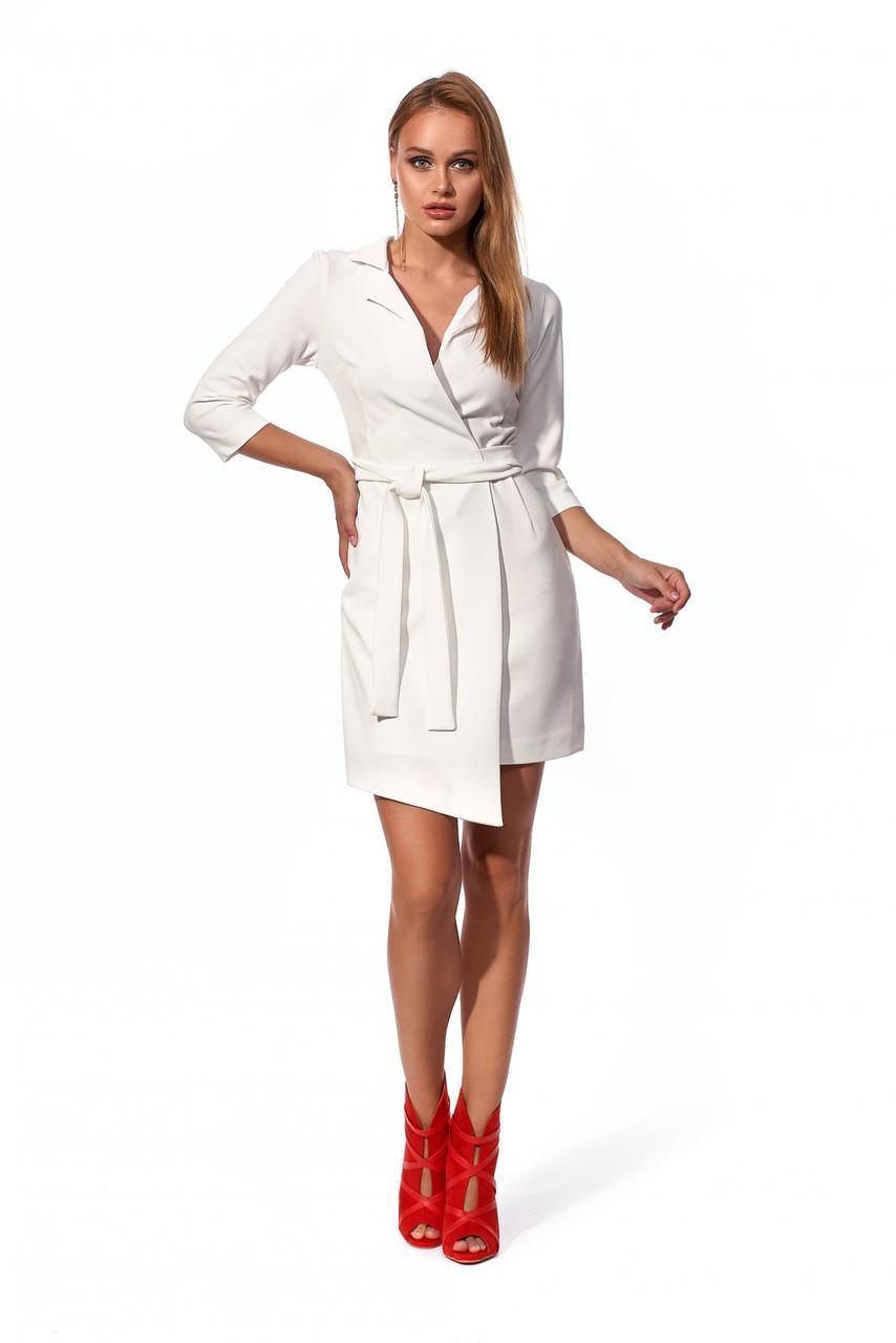 Платье № 1194.3_молочный