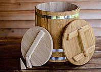 Кадка конусная дубовая 30 литров, фото 1