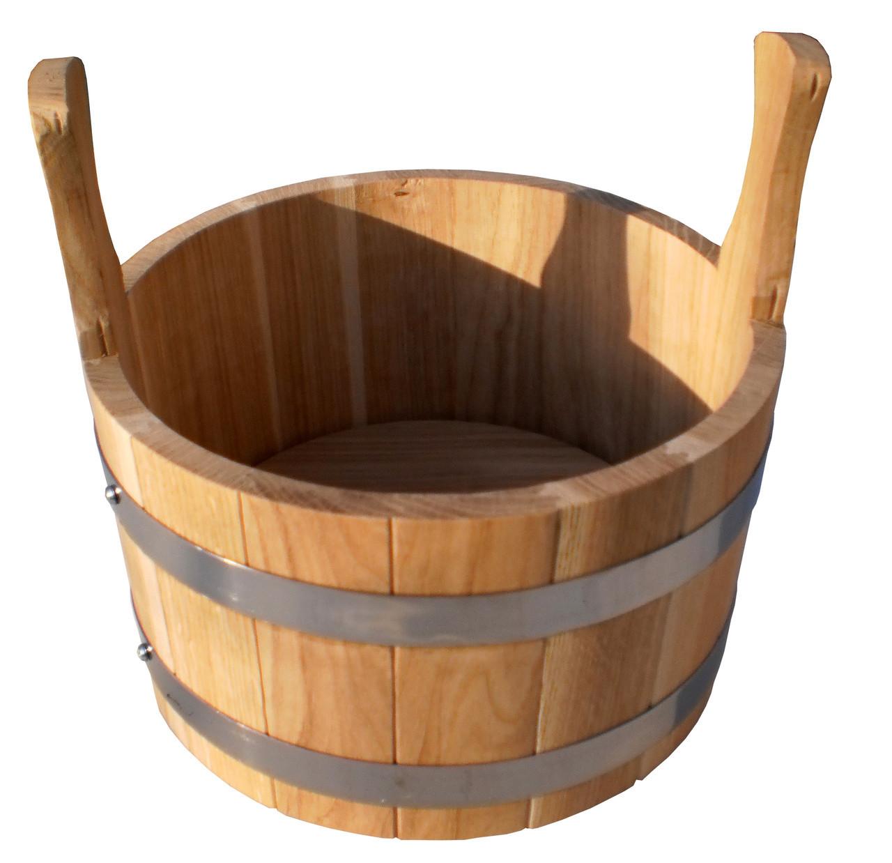 Зграя дубовий для бані та сауни 5 літрів.