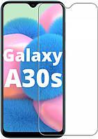Защитное стекло Samsung Galaxy A30s A307 (Прозрачное 2.5 D 9H) (Самсунг Галакси А30С)