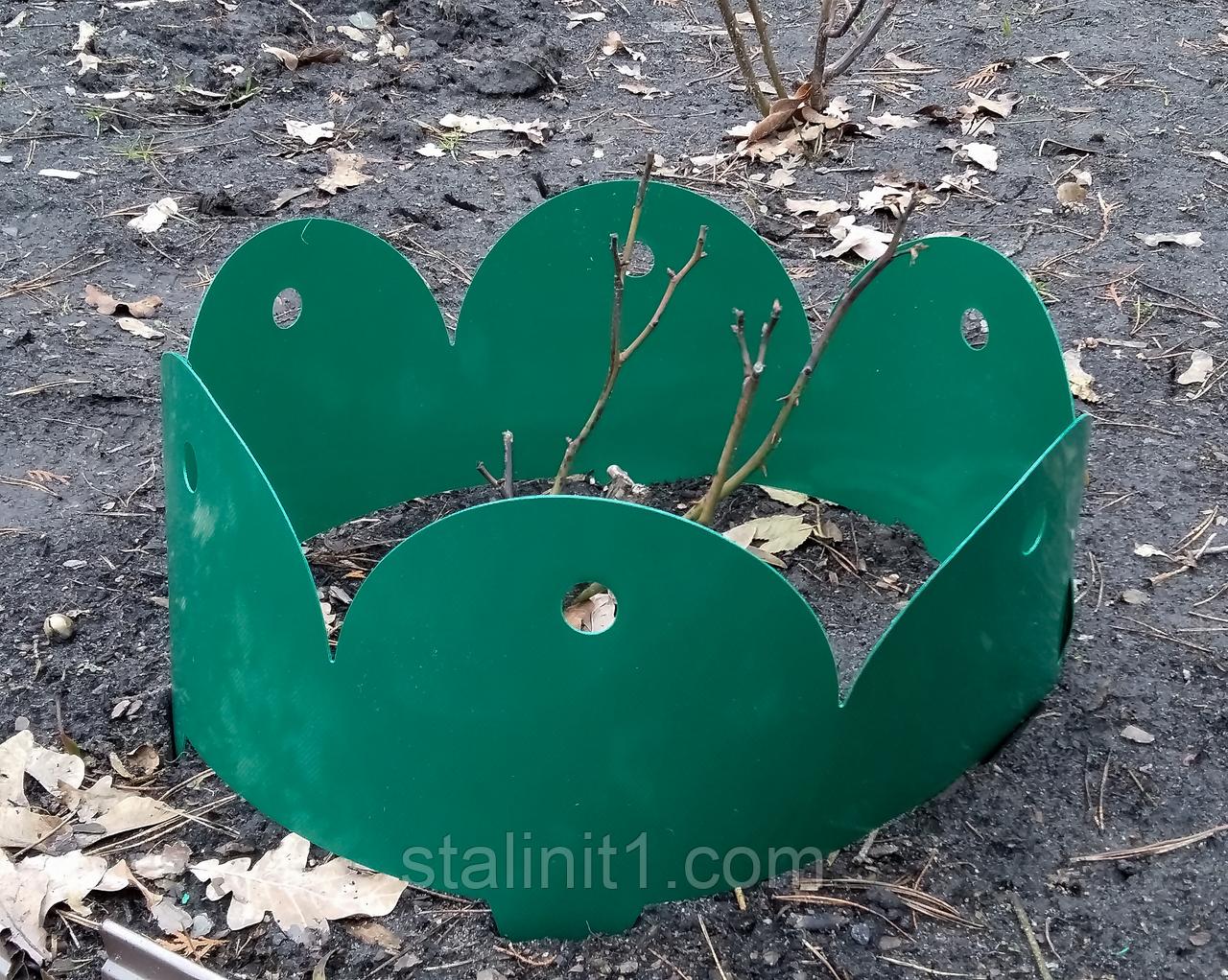 Забор-бордюр для клумб декоративный секционный, пластик, Стандарт