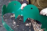 Забор-бордюр для клумб декоративный секционный, пластик, Стандарт, фото 4