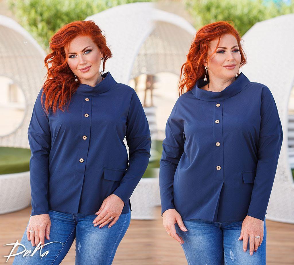 Интересная блуза в деловом стиле