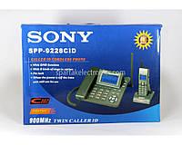 Стационарный телефон KXT 9228 под замену АКБ с автоответчиком